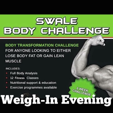 Swale Body Challenge - Weigh In (Week 8)
